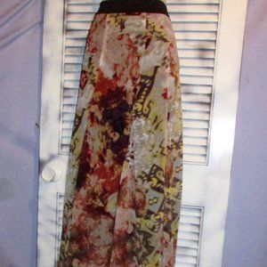 Jeans by Buffalo Petite Small Floral Maxi Skirt